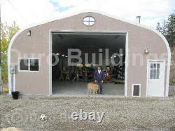 DuroSPAN Steel 30x49x15 Metal Building Shop DIY Home Garage Kit Open Ends DiRECT