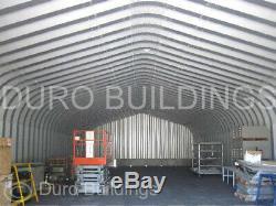 DuroSPAN Steel 30x50x15 Metal Building DIY Home Shop Garage Kit Open Ends DiRECT