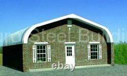 DuroSPAN Steel 30x53x15 Metal Building DIY Home Garage Shop Kit Open Ends DiRECT