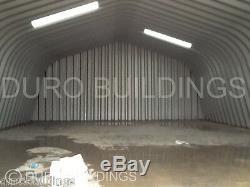 DuroSPAN Steel 30x56x16 Metal Garage Kit Building Shed Workshop Factory DiRECT