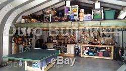 DuroSPAN Steel 30x57x14 Metal Garage Kit Building Shed Workshop Factory DiRECT