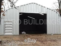 DuroSPAN Steel 30x62x16 Metal Garage Gambrel Barn Building Kit Factory DiRECT