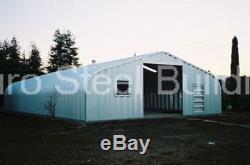 DuroSPAN Steel 30x70x14 Metal Garage Kit Building Shed Workshop Factory DiRECT