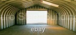 DuroSPAN Steel 32'x40'x18' Metal DIY Building Kit Made To Order Open Ends DiRECT