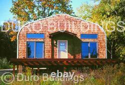 DuroSPAN Steel 32x32x18 Metal Building DIY Home Garage Shop Kit Open Ends DiRECT