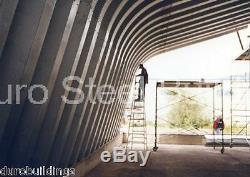 DuroSPAN Steel 32x42x18 Metal Building Kit Storage Shed Carport Open Ends DiRECT