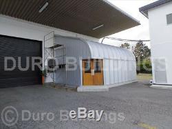 DuroSPAN Steel 32x50x18 Metal Garage Shop DIY Home Building Kit Open Ends DiRECT