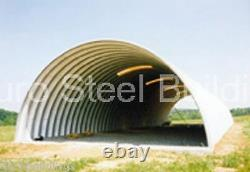 DuroSPAN Steel 33'x48'x15' Metal DIY Arch Building Kits Open Ends Factory DiRECT