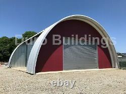 DuroSPAN Steel 37x50x15 Metal Building Barndominium Kit Open Ends Factory DiRECT