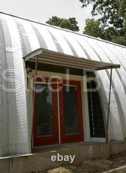 DuroSPAN Steel 40'x26'x20' Metal Quonset DIY Home Building Kits Open Ends DiRECT