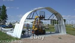 DuroSPAN Steel 40'x70'x18' Metal Building Machine Shed Hay Barn Open Ends DiRECT