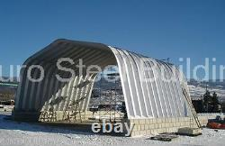 DuroSPAN Steel 40'x80'x18' Metal Building Machine Shed Hay Barn Open Ends DiRECT