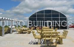 DuroSPAN Steel 40'x96'x16 Metal Prefab DIY Building Kit Open Ends Factory DiRECT