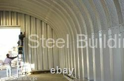 DuroSPAN Steel 40x40x16 Metal Building Kit Ag. Storage Open Ends Factory DiRECT