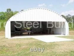 DuroSPAN Steel 40x40x16 Metal Building Kit Farm Shed Workshop DIY Factory DiRECT