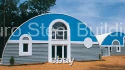 DuroSPAN Steel 40x40x20 Metal Quonset DIY Home Building Kit Open for Ends DiRECT