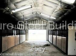 DuroSPAN Steel 40x62x18 Metal Building Farm Workshop Machine Storage Shed DiRECT