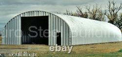 DuroSPAN Steel 40x90x16 Metal Straight Wall Arch Building Kits Open Ends DiRECT