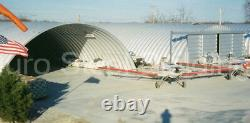 DuroSPAN Steel 42x22x17 Metal Quonset Building Home Kit Open Ends Factory DiRECT
