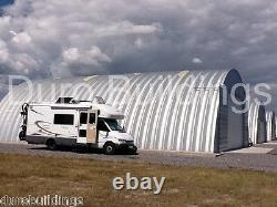 DuroSPAN Steel 42x22x17 Metal Quonset Home Building Kit Open Ends Factory DiRECT