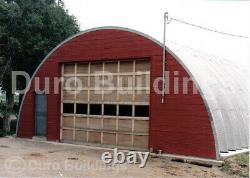 DuroSPAN Steel 42x30x17 Metal Quonset DIY Home Building Open Ends Factory DiRECT