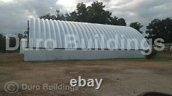 DuroSPAN Steel 48x50x18 Metal DIY Quonset Workshop Building Kit Open Ends DiRECT