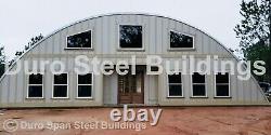 DuroSPAN Steel 50'x100'x17 Metal Building Kits DIY Barndominium Open Ends DiRECT