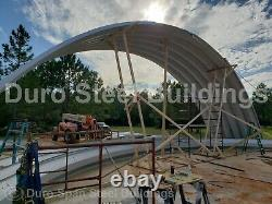 DuroSPAN Steel 50'x50'x19' Metal Quonset DIY Home Building Kits Open Ends DiRECT
