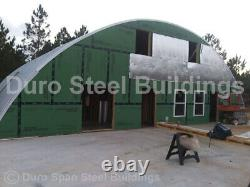 DuroSPAN Steel 50'x60'x19' Metal Quonset DIY Home Building Kits Open Ends DiRECT