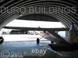 DuroSPAN Steel 50x70x17 Metal Airplane Hanger DIY Building Kit Open Ends DiRECT