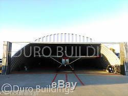 DuroSPAN Steel 50x70x17 Metal Building Kit DIY Airplane Hanger Open Ends DiRECT
