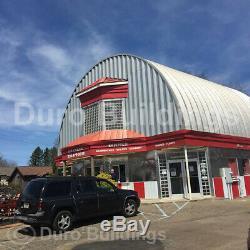 DuroSPAN Steel 51x40x17 Metal Building DIY Custom Roof Top Kit Open Ends DiRECT
