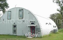 DuroSPAN Steel 51x44x17 Metal Arch DIY House Home Building Kit Open Ends DiRECT