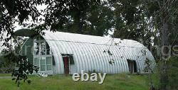 DuroSPAN Steel 51x72x17 Metal Quonset DIY Home Building Kits Open Ends DiRECT