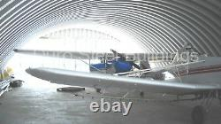 DuroSPAN Steel 60'x114'x20' Metal Quonset Home DIY Building Kit Open Ends DiRECT