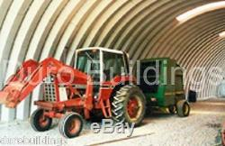 DuroSPAN Steel 60x100x20 Metal Quonset Home Custom Building Kit Open Ends DiRECT