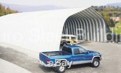 DuroSPAN Steel A40x60x18 Metal Arch DIY Ag Building Kit Open Ends Factory DiRECT