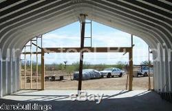 DuroSPAN Steel GP20x30x12 Metal Building DIY Home Kit Open Ends Factory DiRECT
