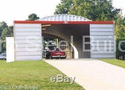 DuroSPAN Steel S40x60x16 Metal Arch DIY Farm Building Kit Ag Barn Factory DiRECT