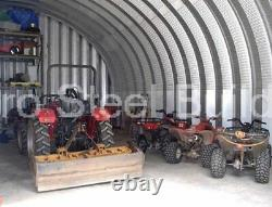 DuroSPAN Steel S40x60x16 Metal Building Kit Ag Barn DIY Workshop Factory DiRECT