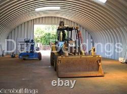 DuroSPAN Steel S40x66x16 Metal Arch DIY Farm Building Kit Ag Barn Factory DiRECT