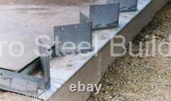 Duro Steel Arch Building 100' Metal Hand Welded Industrial Base Connector Plate