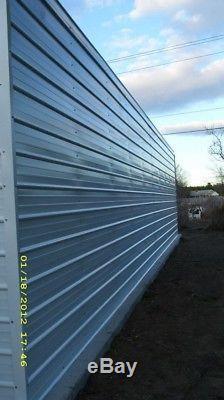 FLORIDA Steel 2 Car Garage Workshop 24x31x9 Metal Building FREE DELIVERY SETUP