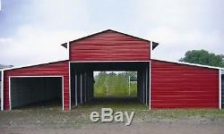 Metal 44x31 A-Frame Steel Building Horse Animal Barn Agricultural FREE INSTALL