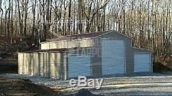 Metal-Barn-40 X 36 X 12 steel building Agricultural Garage FREE-DELIVERY-SETUP