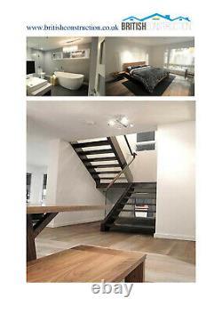 Modular Building, Sectional House, Prefab, Kit Home, Self Building Kit 2235 sq. F