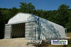 NEW Steel A40x80x16 Metal Storage Building Woodworking Shop Alpine Style
