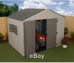 New Steel Reinforced 10 ft. X 8 ft. Metal Storage Garage Shed Barn Building Kit