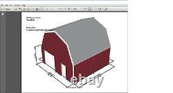 Prefab Steel Quaker Barn Building, Many More Sizes