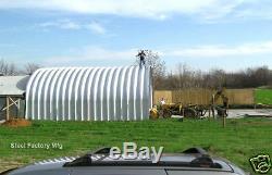 S25x30x14 Steel Factory Mfg Prefab Metal Storage Building Garage Workshop Kit